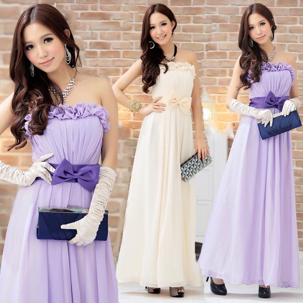 ロング パーティー ドレス ワンピース Long ワンピース 大きいサイズ 大きなサイズ 結婚式 二次会 キャバ2