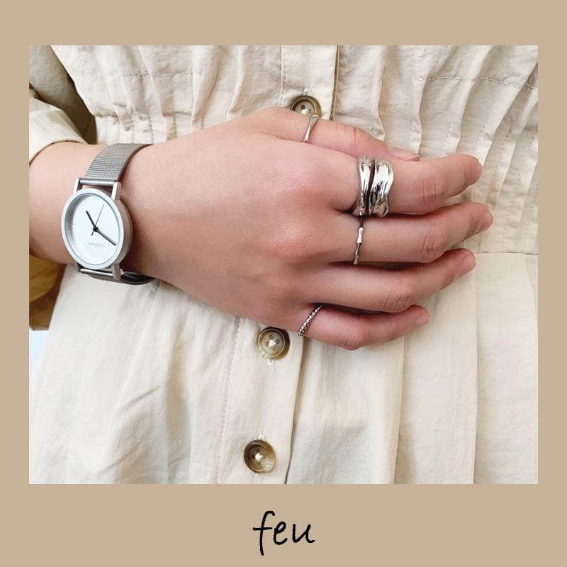 【feu】簡単手元のオシャレ!セットリング