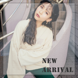 【NEW ARRIVAL】新作アイテムが続々入荷中!!