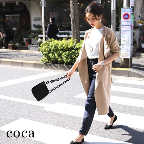 【coca】さらっと着れる♪春の必須アイテムライトアウター!