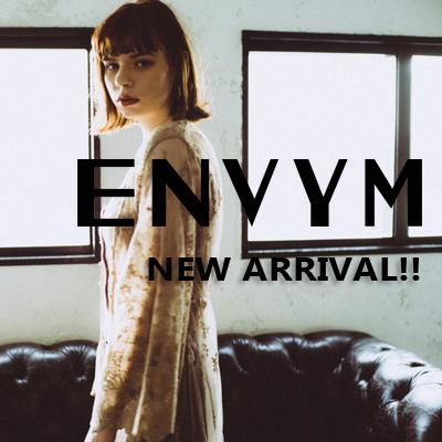 【ENVYM】NEW ARRIVAL(3/16)