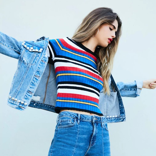 【FOREVER21】 SHOW YOUR STRIPES