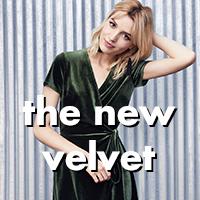 the new velvet★今季注目のベロアアイテムまとめ