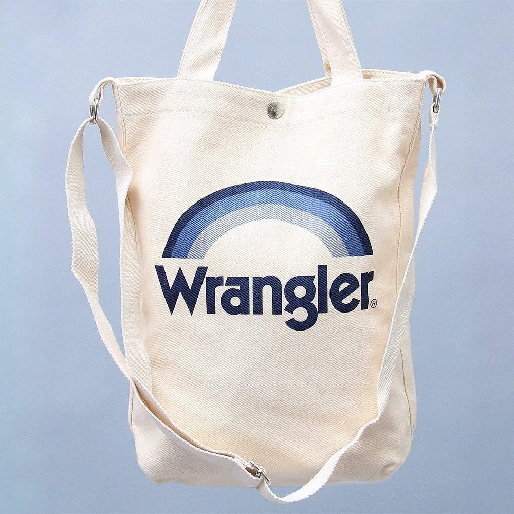 ▼Wrangler▼ポップな2WAYキャンバスバッグ