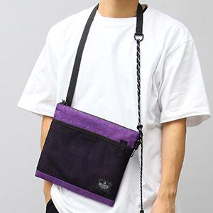 """ミニバッグで取り入れるトレンドカラーの""""パープル""""!"""