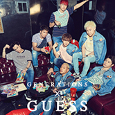 GENERATIONS x GUESSが再販売決定!