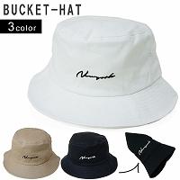 帽子//色々なスタイルに人気のバケットハット//