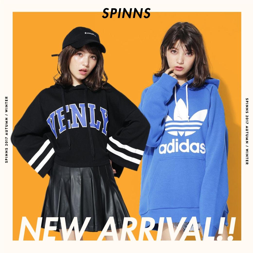 【SPINNS】今から着れる新作が大量入荷!!