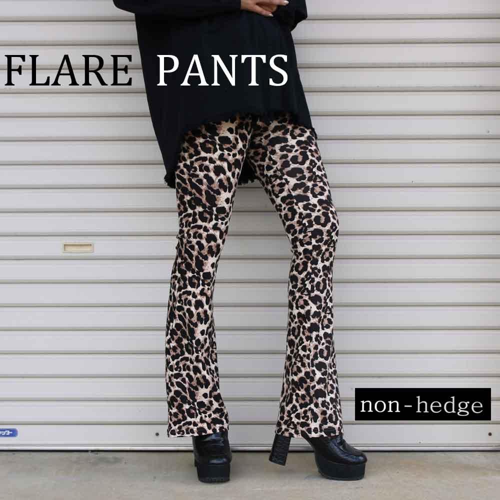 【non-hedge 】 大人気!!FLARE  PANTS